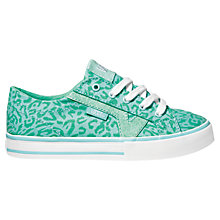 Buy Vans Tory Cheetah Trainers, Turquoise Online at johnlewis.com