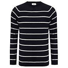 Buy John Lewis Made in Italy Stripe Cotton Jumper Online at johnlewis.com