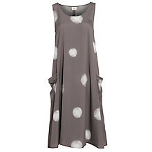 Buy Crea Concept Polka Dot Dress, Taupe Online at johnlewis.com