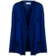 Buy Toast Fine Wool Draped Cardigan, Deep Cobalt Online at johnlewis.com