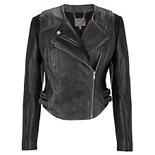 Buy Muubaa Tumen Jacket, Black Online at johnlewis.com