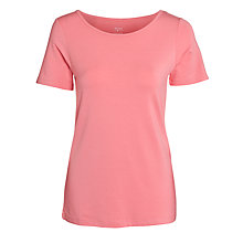 Buy John Lewis Scoop Neck Yoga T-Shirt Online at johnlewis.com