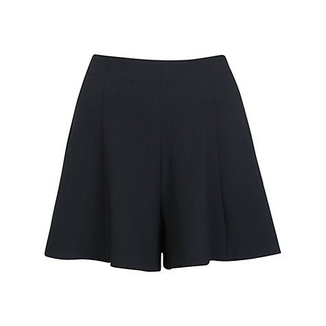 Buy Miss Selfridge Tailored Shorts, Black Online at johnlewis.com