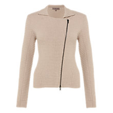 Buy Jigsaw Cashmere Blend Cardigan, Blue Online at johnlewis.com