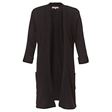 Buy Jigsaw Cashmere Blend Tab Sleeve Longline Cardigan Online at johnlewis.com