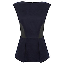 Buy Coast Dora Top, Black Online at johnlewis.com