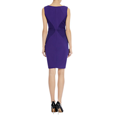 Buy Coast Rotterdam Dress, Violet Online at johnlewis.com