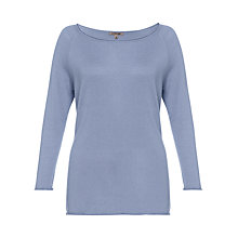 Buy Jigsaw Viscose Cashmere Raglan Boat Neck Sweatshirt Online at johnlewis.com