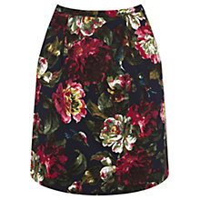 Buy Oasis Renaissance Rose Printed Skirt, Multi Online at johnlewis.com
