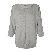 Buy Jigsaw Draped Hem Seam Sweater Online at johnlewis.com