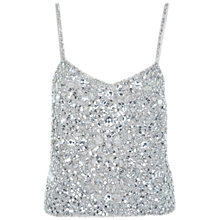 Buy Miss Selfridge Big Beaded Camisole, Multi Online at johnlewis.com