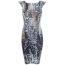Buy Miss Selfridge Snake Print Dress, Multi Online at johnlewis.com