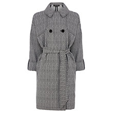 Buy Warehouse Herringbone Jacket, Light Grey Online at johnlewis.com