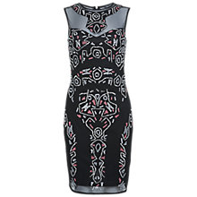 Buy Miss Selfridge Aztec Embellished Dress, Assorted Online at johnlewis.com
