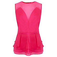Buy Coast Geonie Top, Pink Online at johnlewis.com