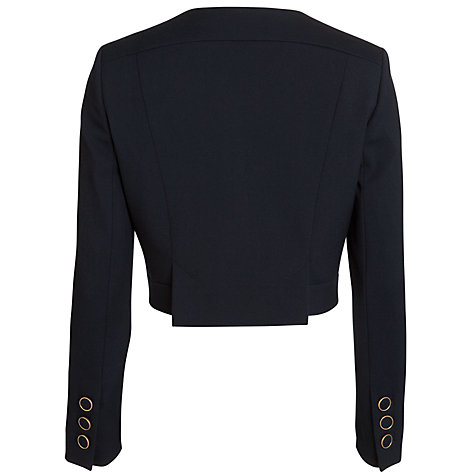 Buy Somerset by Alice Temperley Military Jacket, Navy Online at johnlewis.com