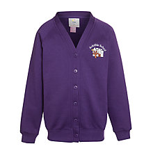 Buy Arduthie Primary School Cardigan, Purple Online at johnlewis.com