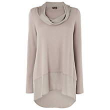 Buy Phase Eight Brook Silk Panel Jumper, Mole Online at johnlewis.com