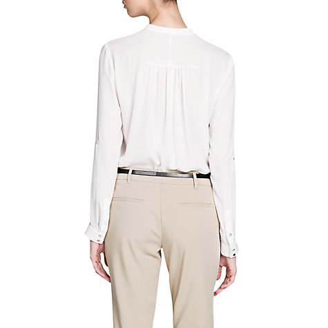 Buy Mango Collar Blouse Online at johnlewis.com