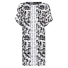 Buy Mango Combo Print Dress, Black Online at johnlewis.com