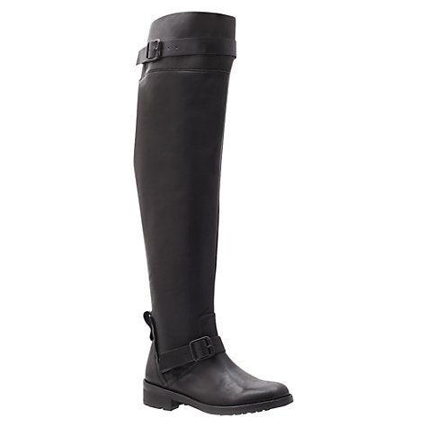 Buy KG by Kurt Geiger Vince Knee High Boot, Black Online at johnlewis.com