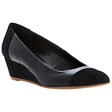 Buy Dune Alaine Leather Wedge Shoes Online at johnlewis.com