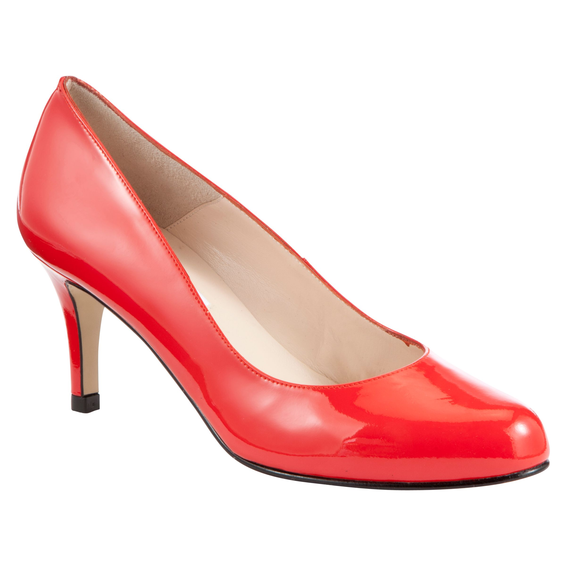 Collection By John Lewis Lloyd Court Shoes, Red