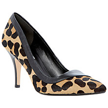 Buy Dune Alivia Court Shoes, Leopard Online at johnlewis.com