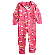 Buy Little Joule Luna Onesie, Pink Online at johnlewis.com