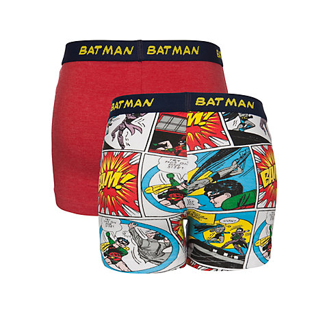 Buy Batman Boys' Trunks, Pack of 2, Red Online at johnlewis.com