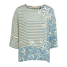 Buy Paul & Joe Sister St Pierre Stripe Top, Blue Online at johnlewis.com