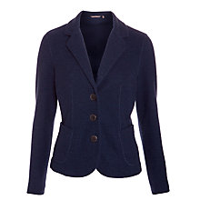 Buy Sandwich Textured Jersey Jacket, Navy Online at johnlewis.com