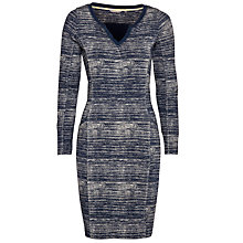 Buy Sandwich Knit Print Dress, Navy Online at johnlewis.com
