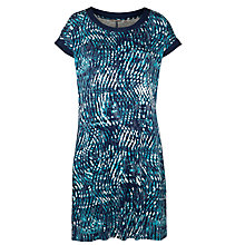 Buy Sandwich Wave Print Jersey Dress, Navy Online at johnlewis.com
