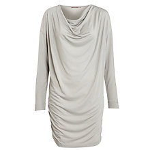 Buy Sandwich Long Cowl Jersey Tunic Dress, Pearl Grey Online at johnlewis.com