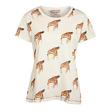 Buy Paul & Joe Sister Biornou Giraffe T-shirt, Ecru Online at johnlewis.com