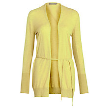 Buy Sandwich Slub Cardigan, Light Green Online at johnlewis.com