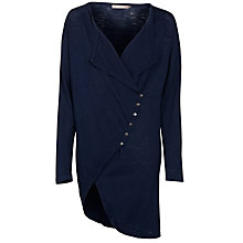 Buy Sandwich Side Button Cardigan, Navy Online at johnlewis.com
