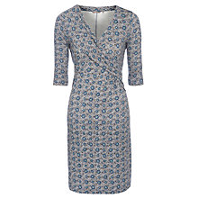 Buy Sandwich Jacquard Wrap Dress, Navy Online at johnlewis.com