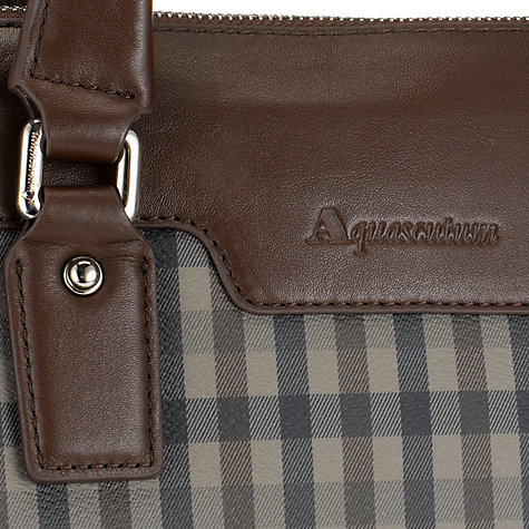 Buy Aquascutum Club Check Document Holder Online at johnlewis.com