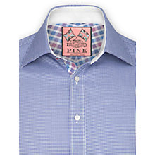 Buy Thomas Pink Germanus Texture Shirt, Blue/White Online at johnlewis.com