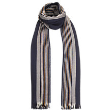 Buy Aquascutum Striped Wool Scarf Online at johnlewis.com