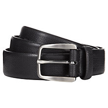 Buy Aquascutum Lattice Embossed Belt Online at johnlewis.com