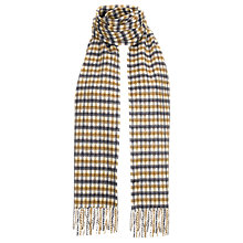 Buy Aquascutum Cashmere Club Check Scarf, Brown/Multi Online at johnlewis.com
