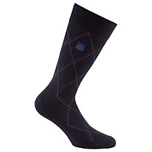 Buy Aquascutum Crest Embroidered Socks Online at johnlewis.com