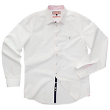 Buy Thomas Pink Snell Plain Shirt, White/Pink Online at johnlewis.com
