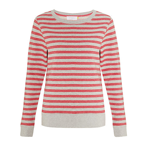 Buy Collection WEEKEND by John Lewis Stripe Sweat Top Online at johnlewis.com