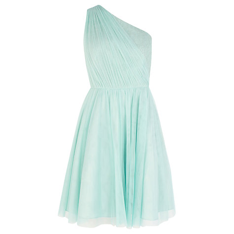 Buy Coast Poppy Short Dress, Mint Online at johnlewis.com