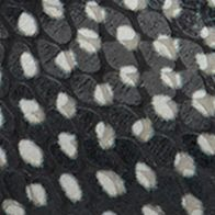 Black/White Reptile Print