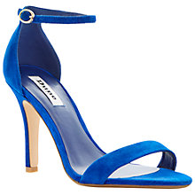 Buy Dune Hydro Two Part Ankle Strap Sandals, Blue Online at johnlewis.com